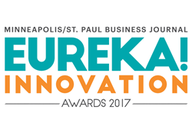 Minneapolis/St. Paul Business Journal Eureka! Innovation Awards 2017 logo