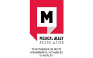 Medical Alley Association 2018 Winner in Most Meaningful Advances in Health logo